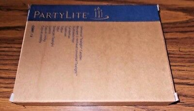 12 Partylite Iced Snowberries Universal Tealight Candles - Nib