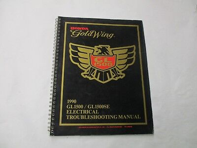 honda 1990 gl1500 goldwing electrical troubleshooting manual