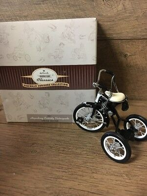 Hallmark 1951 Hopalong Cassidy Velocipede. Sidewalk Cruisers Collection.