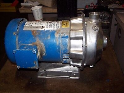 Goulds 1X1-1/4-6 Stainless Steel Centrifugal Pump 1 Hp 3450 Rpm 1St1E5D4