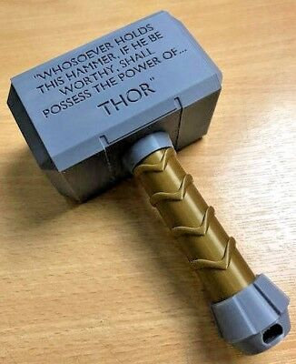 Personalized Baby Thor Hammer | Photo Prop | Baby Thor Rattle | UK SELLER