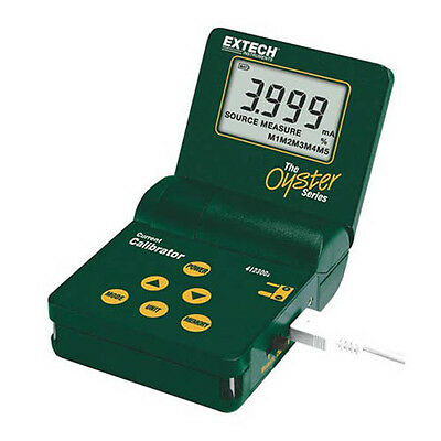 Extech 412300A Current Calibrator/Meter, w/ Large 3-1/2 digit LCD display