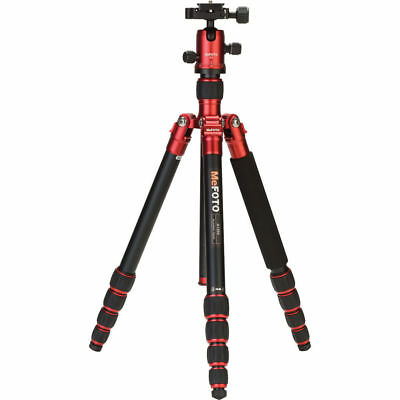 MeFOTO RoadTrip Aluminum Travel Tripod (Red, NEW, store demo)