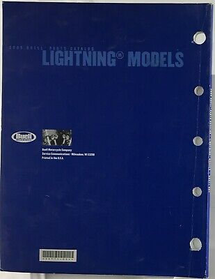 HARLEY DAVIDSON/BUELL OEM Parts Catalog 2005 LIGHTNING MODELS 99571-05Y