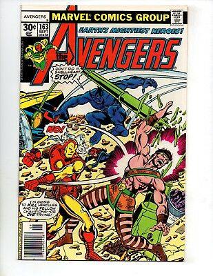"The Avengers #163 (Sep 1977, Marvel) NM- 9.2 CGC ""VS. THE CHAMPIONS"""