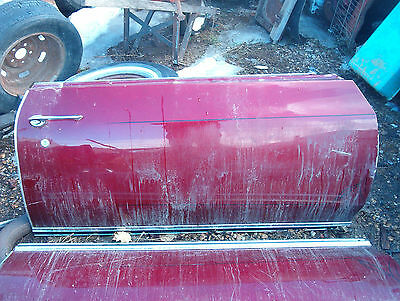 1970 1971 1972 Monte Carlo Right Passenger Side Door Shell Only