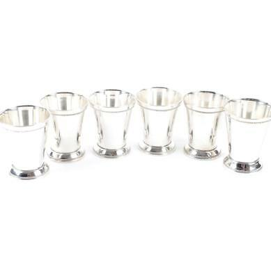 Silver Plate Mint Julep Cups by Ross-Simons (6 Per Box)