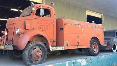1941 Ford Other Pickups FIRE 1941 Ford COE Cabover 4x4 Marmon Harrington RARE
