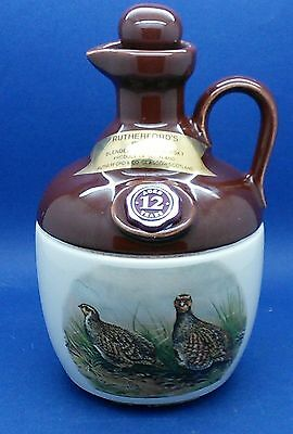 Rutherfords Oldest Blended Scotch Whisky Jug USED & EMPTY
