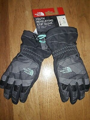 The North Face Youth Boys' Revelstoke Etip Insulated Gloves Size M