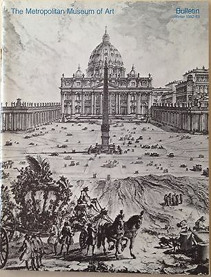 Vintage Metropolitan Museum of Art Bulletin Winter 1982 BUILDING OF THE VATICAN