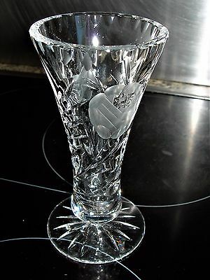 Very Pretty Vintage Crystal Bud Vase