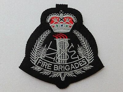 New South Wales Fire Brigades (Black & Grey) patch