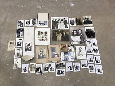 Vintage Lot Of African American Photographs, c. 1920s-1970s
