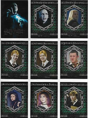 Harry Potter and the Order of the Phoenix Update 91-180 Base Card Set OOTPU