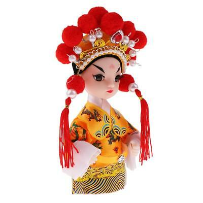 5'' Handmade Doll Peking Opera Performer Emperor Xuanzong of Tang Dynasty