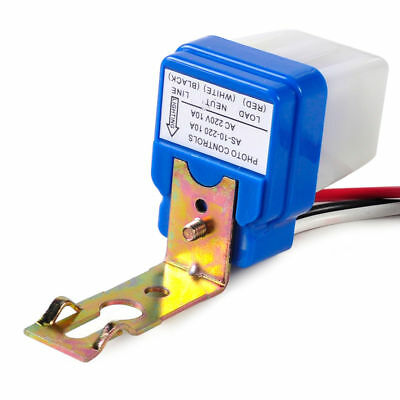 Automatic On Off Street Light Switch Photo Control Sensor for AC 220V ISN CH