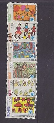 MOZAMBIQUE-1979-YEAR OF THE CHILD SET-CTO/NO HINGE/FULL GUM-$3.00-freepost