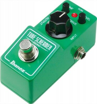 IBANEZ TSMINI Tube Screamer Mini Overdrive Guitar Effect Pedal