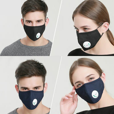Adult PM2.5 Anti-dust Mask Cotton Breath Mouth Face Carbon Filter Respirator