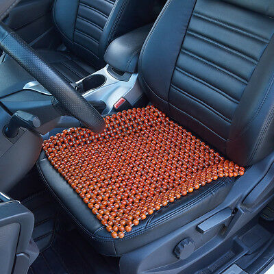 Wooden Bead Sofa Office Chair Mat Car Seat Cover Dirty Protector Classic Beaded