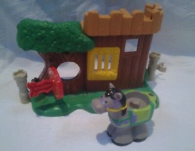 Fisher Price Little People Watchful Woodsman incomplete