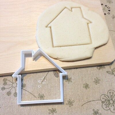 House Cookie Cutter - Fondant Cake Cupcake Topper Mold House Warming Party Home
