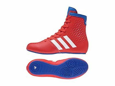Adidas Kids KO Legend Boxing Boots Junior Boxing Shoes Boys Girls Childrens Red