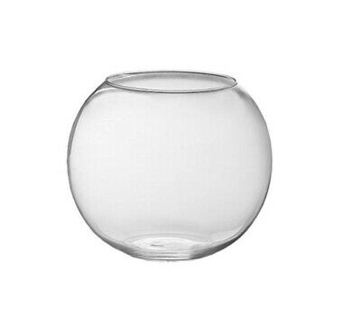 Interpet Glass Fish Bowls - 21/30cm heights, ideal for Coldwater Goldfish
