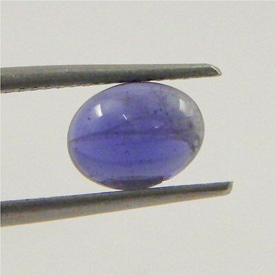 1.1 cts India's Natural Iolite Gemstone Wholesale Loose Cabochon R#103-43