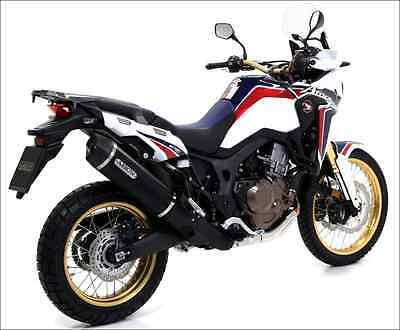 Silencieux Arrow Alu Dark Honda Crf 1000 L Africa Twin 2016/17 - 72621Akn