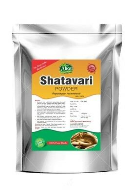 100% Pure Shatavari Root Powder - Organically Grown Asparagus racemosus