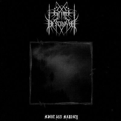 Grim Destroyer – Might And Majesty CD Black Metal witchcraft; the great old one