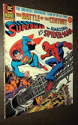 DC & MARVEL TREASURY Edition -- Superman Vs Amazing Spider-Man -- VF+ Or Better