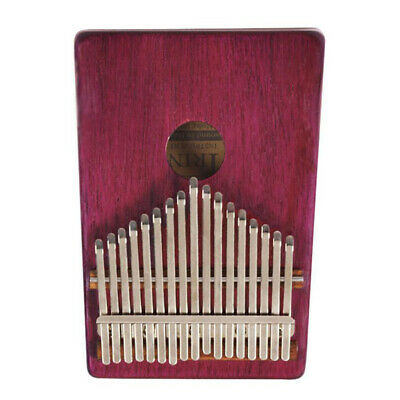 Kalimba African Mbira Finger Percussion Instrument Gift Nice Sound Dark Red
