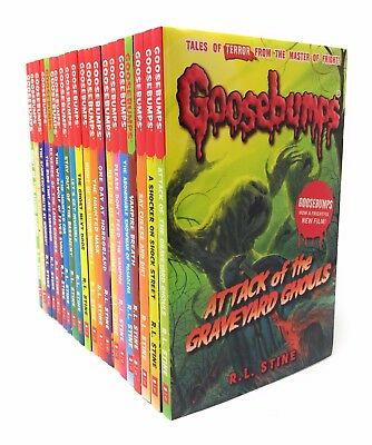 Goosebumps Classic Series R L Stine 20 Books Set Collection Children Gift Pack