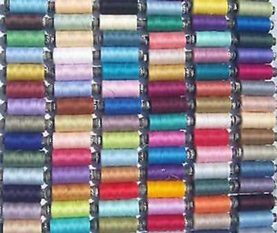 100 Spools of Sewing Spun Polyester Thread, Great Quality, Bargain Price