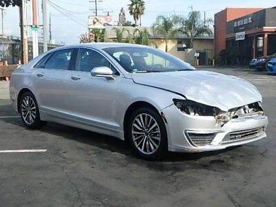 2017 Lincoln MKZ/Zephyr Hybrid Premiere 2017 Lincoln MKZ Hybrid Premiere Crashed Repairable Only 5K Mi Loaded Luxurious