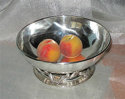 Canadian Sterling Silver Fruit Bowl Carl Poul Petersen / Georg Jensen  775 gr.