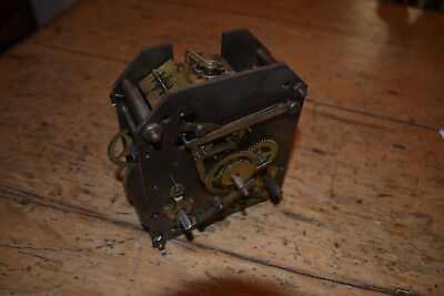 english striking bracket clock movement for spares/repair