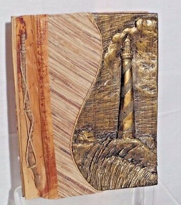 Outer Banks Lighthouse Photo Album made from Bamboo, Coconut and Palm Trees New