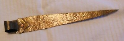 Arts And Crafts Period Copper Letter Opener