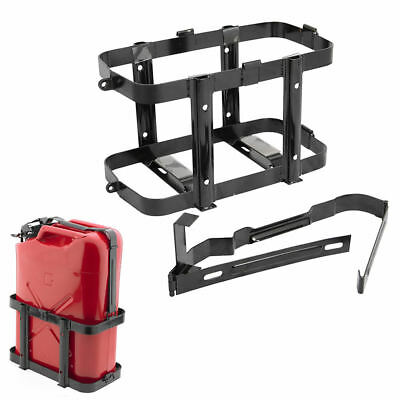 Metal Jerry Can Fuel Holder Fits 10 & 20 Litre Petrol Diesel Containers 4x4