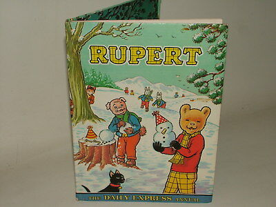 Rupert Bear Vintage Bronze Age ( 1970 - 1979 ) Annual 1974 Not Price Clipped