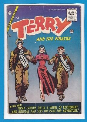 Terry And The Pirates #26_June 1955_Very Good Minus_Golden Age Charlton!