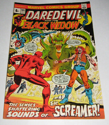 DAREDEVIL & BLACK WIDOW Marvel Comic issue 101