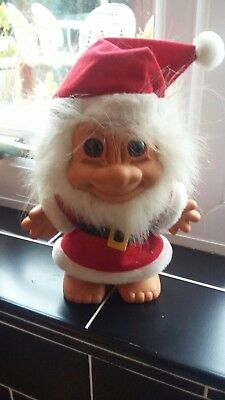 Vintage Large Russ Father Christmas Troll