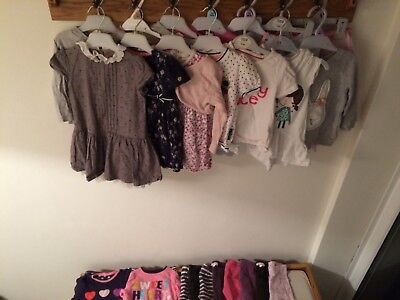 baby clothing bundle size 12-18 months good condition pjs dresses tops leggings