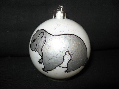 New Handpainted Flying Squirrel Unbreakable Christmas Ornament