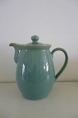 Denby Stoneware Manor Green 1.5 Pint Lidded Jug/Pot- Undamaged